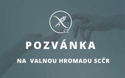 Pozvánka na valnou hromadu členů SCČR